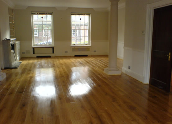 solid wood floor manchester